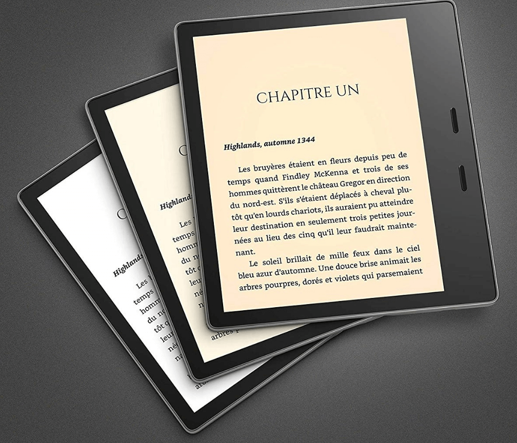 Liseuse grand format Kindle Oasis
